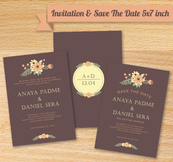 Wedding Reception Invitation Templates Free PSD JPG Word - Free wedding reception invitation templates