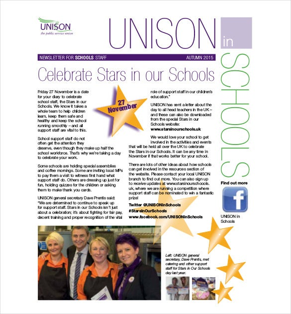 schools newsletter autumn