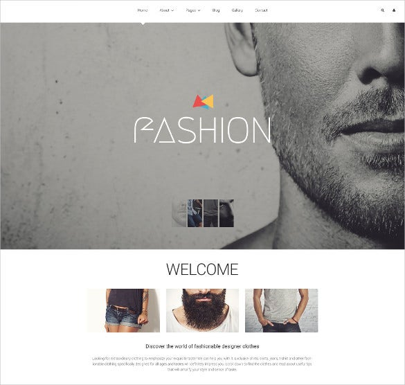 fashion blog joomla blog template