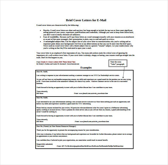 wfdcorg our website has a wide range of brief cover letter for email templates that can be used widely these samples are present in various formats and - Cover Letter Email Example