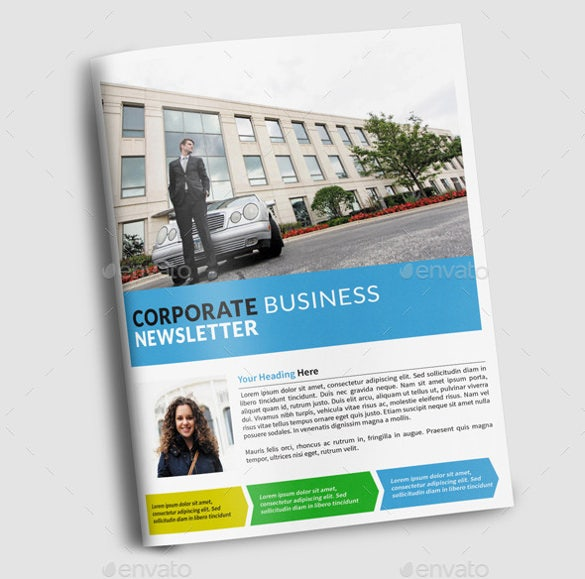 10 Company Newsletter Templates Free Sample Example Format – Corporate Newsletter Template