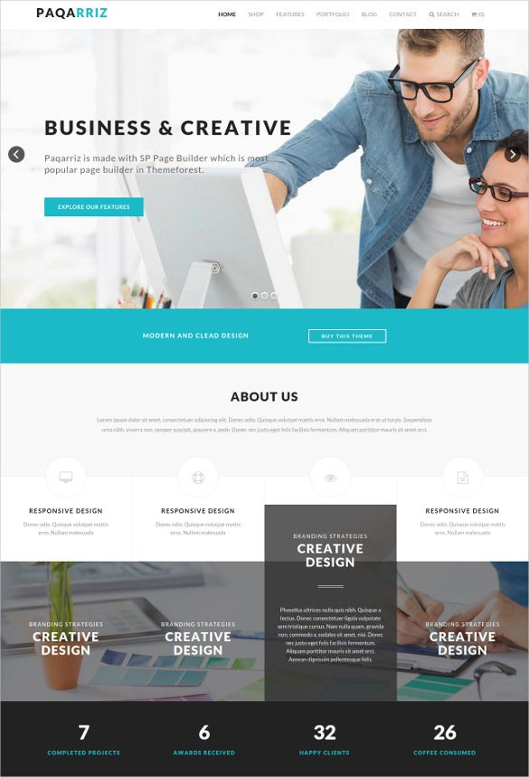17 corporate joomla themes templates free premium templates business creative joomla template cheaphphosting Images