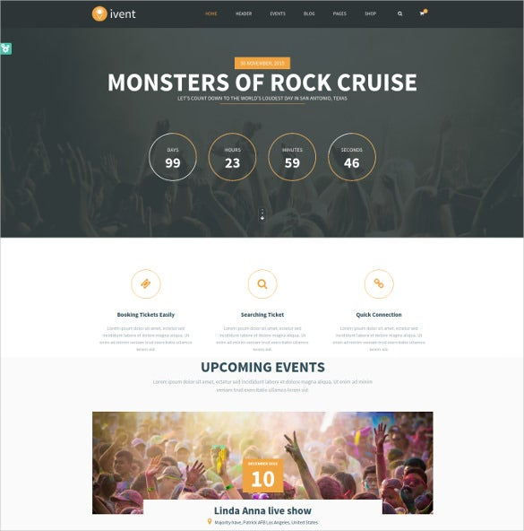 ivent multipurpose event html5 theme