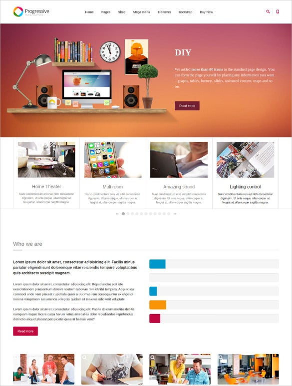 corporate multipurpose joomla template