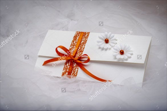 elegant simple handmade wedding invitations