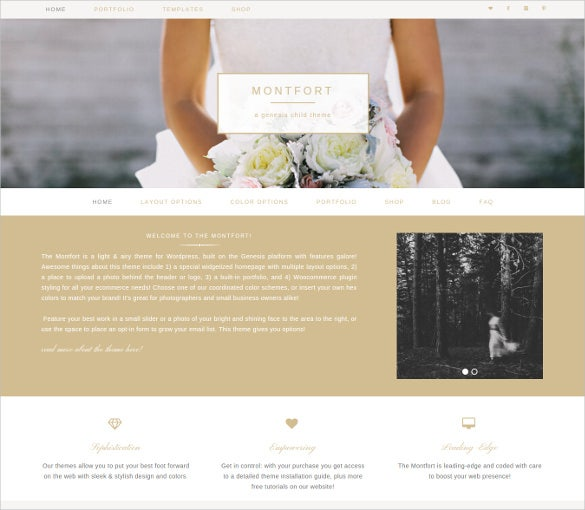 montfort genesis child html5 theme