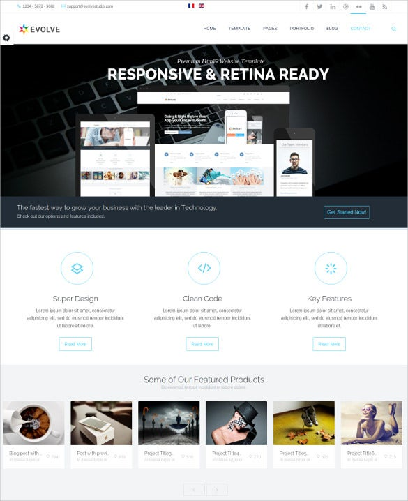responsive multi purpose corporate joomla template