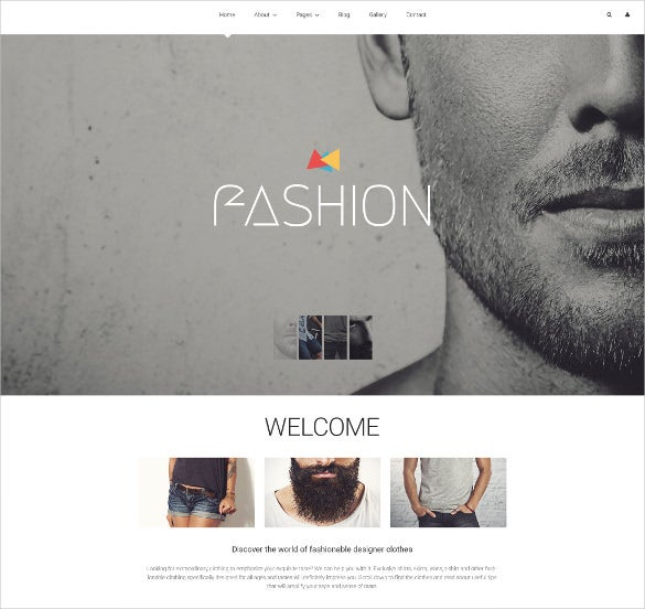 fashion blog joomla theme