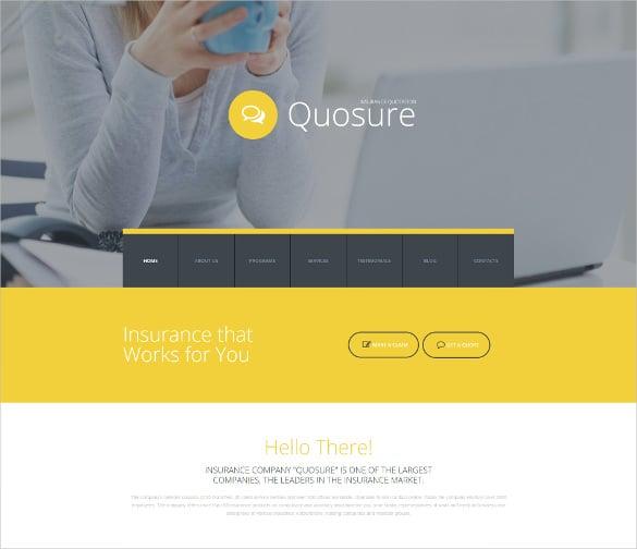 responsive corporate blog