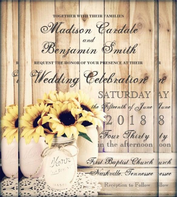 Rustic wedding invitation templates free trattorialeondoro stopboris Image collections