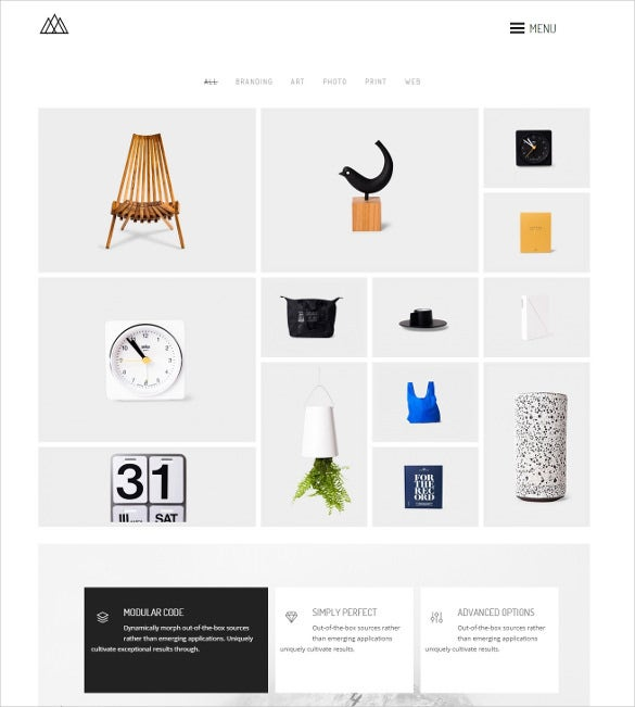 creative agency wordpress php template