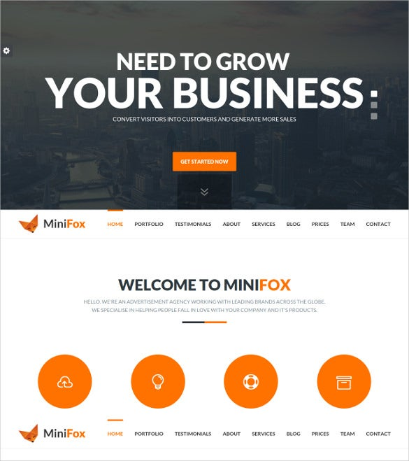 multipule corporate html 5 template