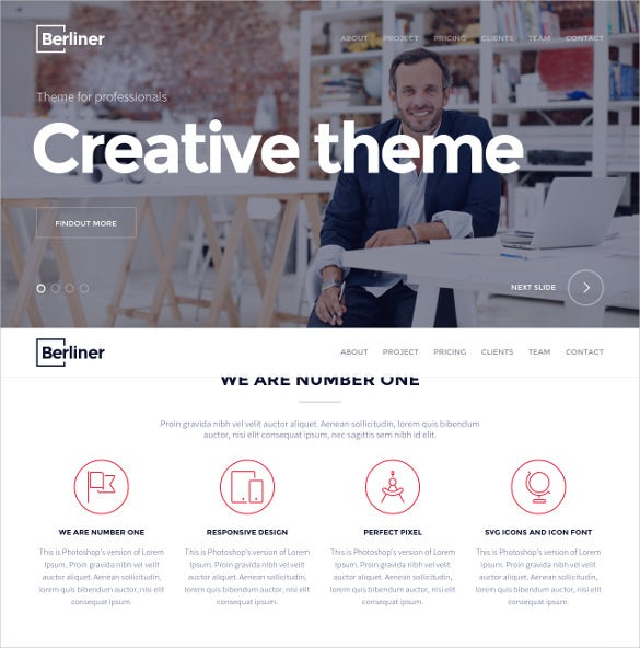 creative corporate html 5 theme