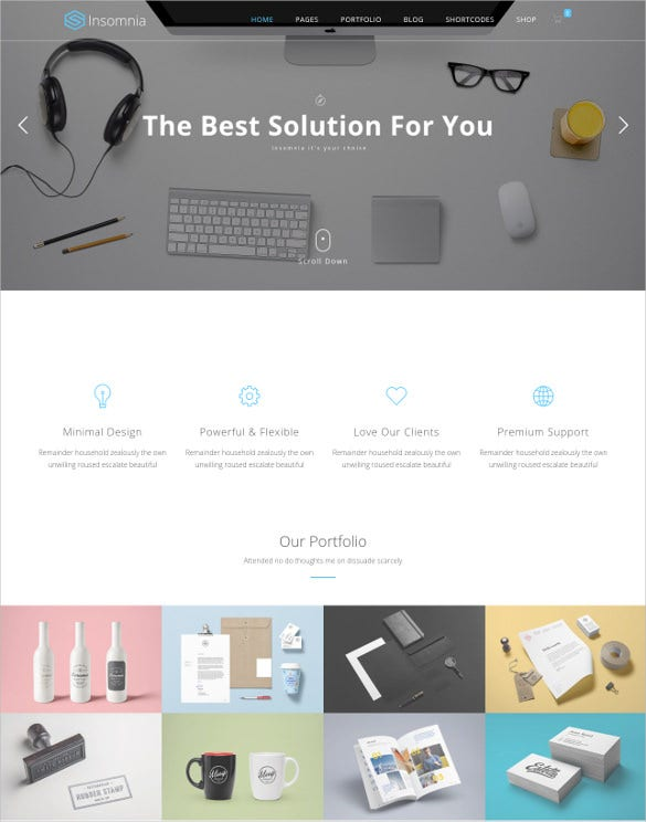 beautiful and modern html 5 corporate template