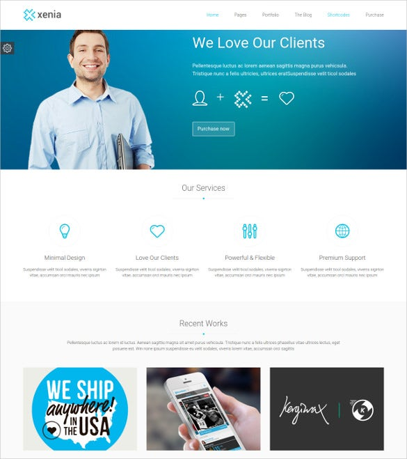 corporate client html 5 template