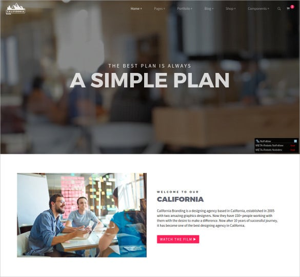 corporate restaurent html 5 template