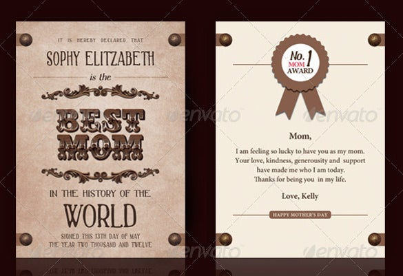 world best award invitation card