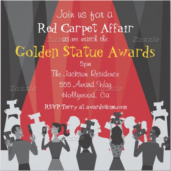 15+ Award Invitation Templates - PSD, Word, AI | Free ...