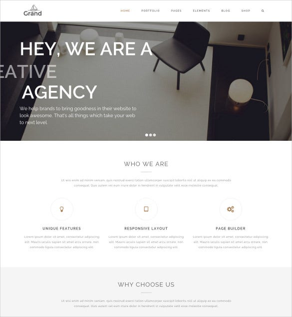 creative responsive multipurpose architecture blog website theme