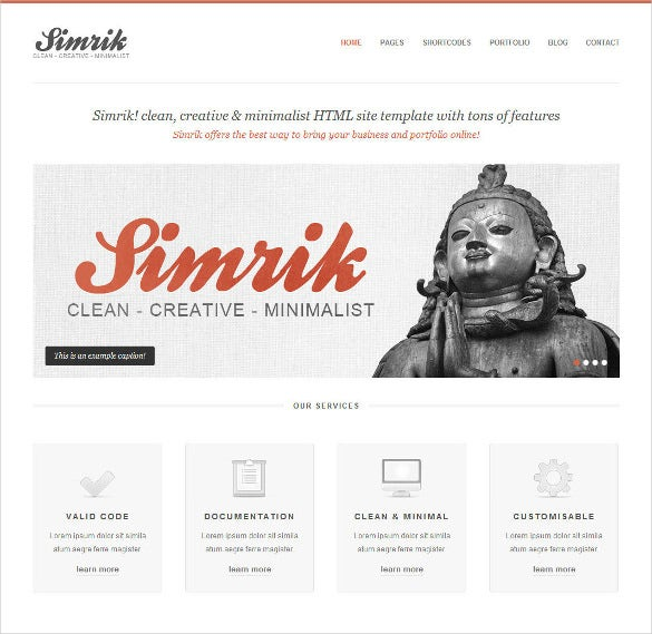 21+ Creative Website Themes & Templates | Free & Premium Templates