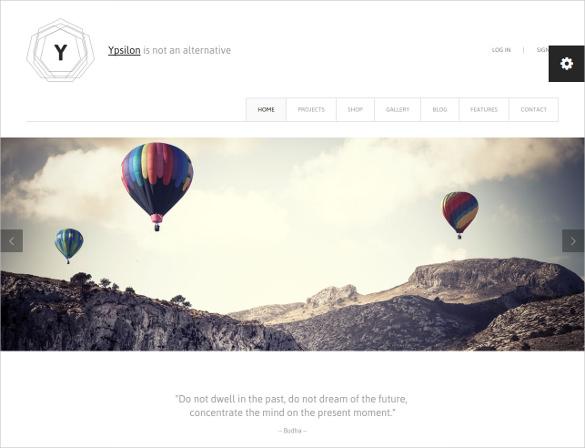 premium corporate html 5 template