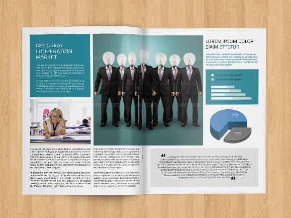 Business Newsletter Template   Free Psd Eps Indesign Pdf