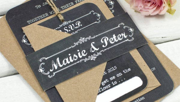 chalkboardweddinginvitation