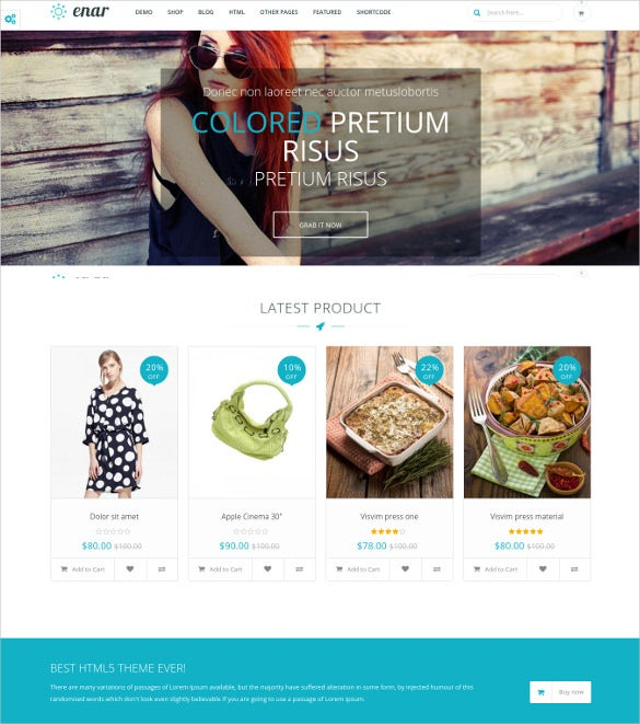 multi purpose creative opencart theme