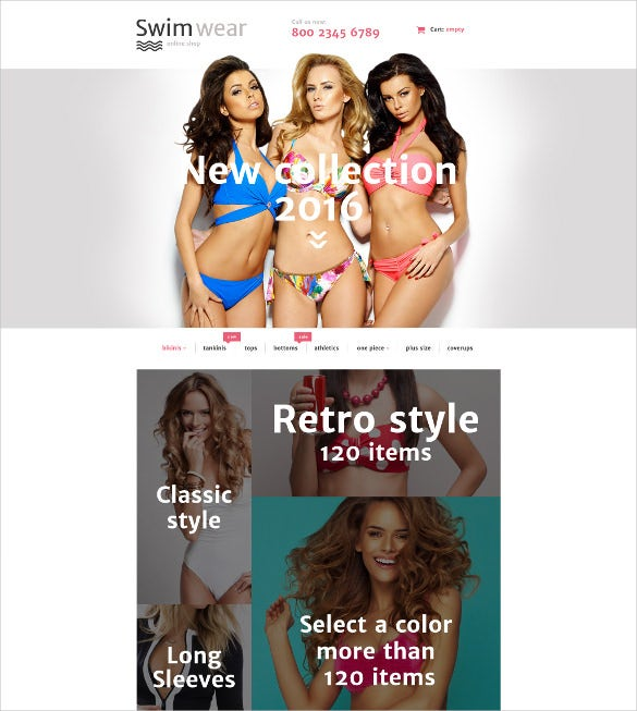 creative swimwear prestashop theme