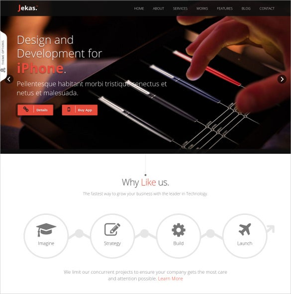 corporate software bootstrap template