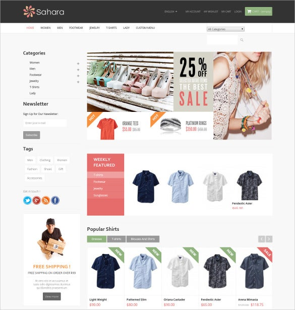 ultimate creative responsive prestashop theme
