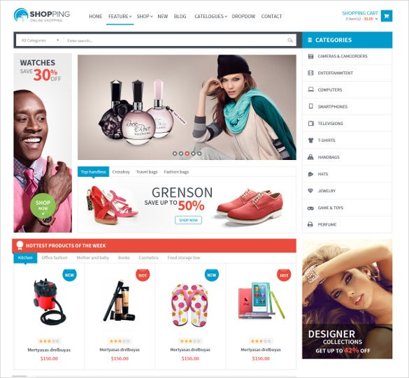 creative shopping prestashop theme
