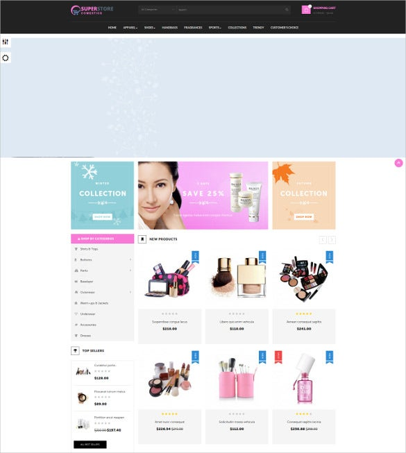 creative leo cosmetic prestashop theme