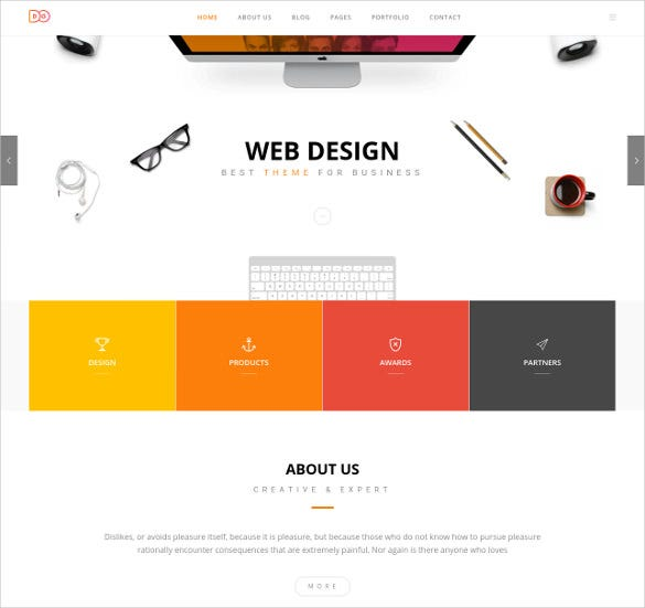 coporate webdesign bootstap template