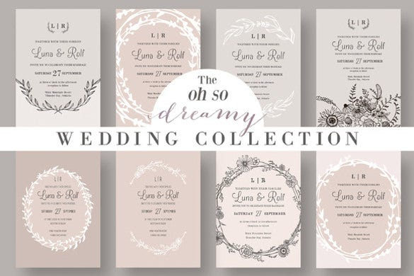 creamy dreamy wedding collection