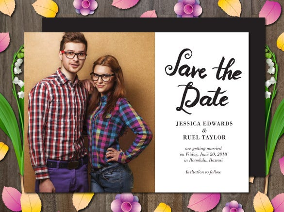 save the date invitation for wedding1
