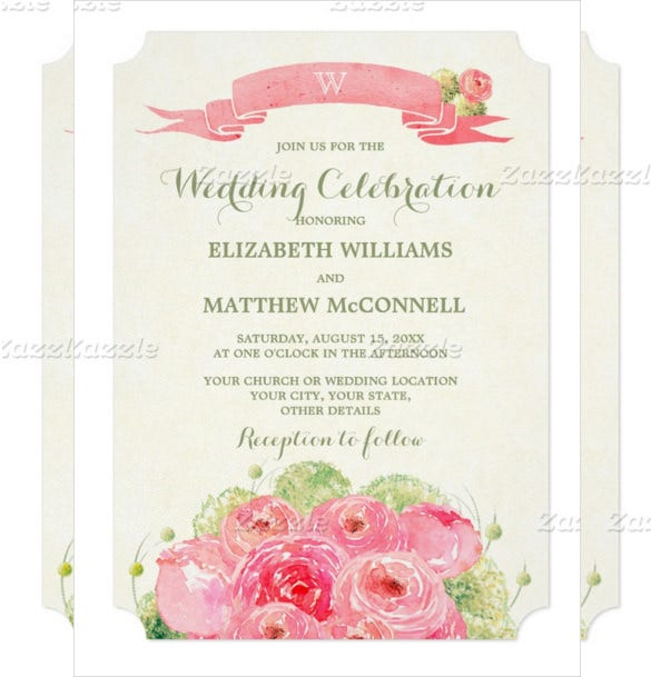 custom romantic design wedding invitations