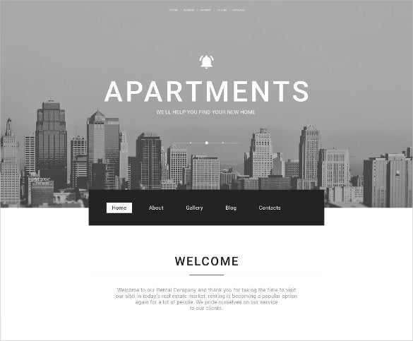 coporate real estate agency php template