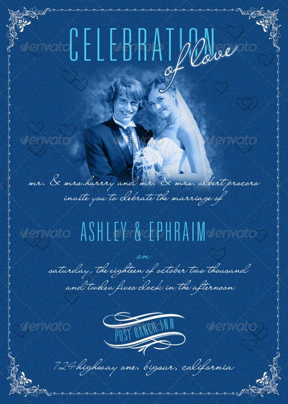 35+ Traditional Wedding Invitation Templates – Free Sample, Example ...