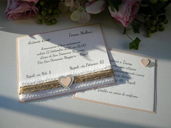 Custom Wedding Invitation Templates