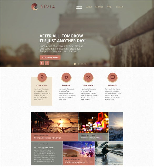professional creative psd template