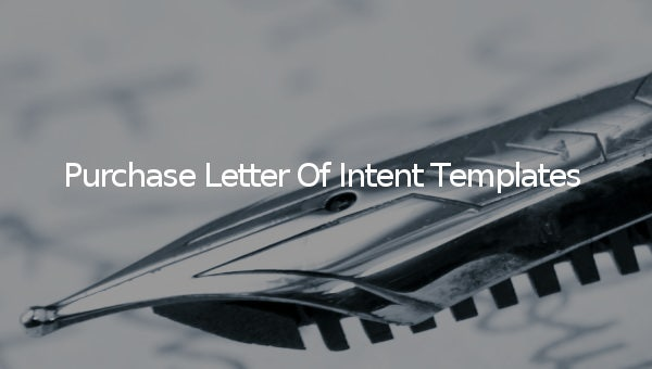 purchaseletterofintenttemplates