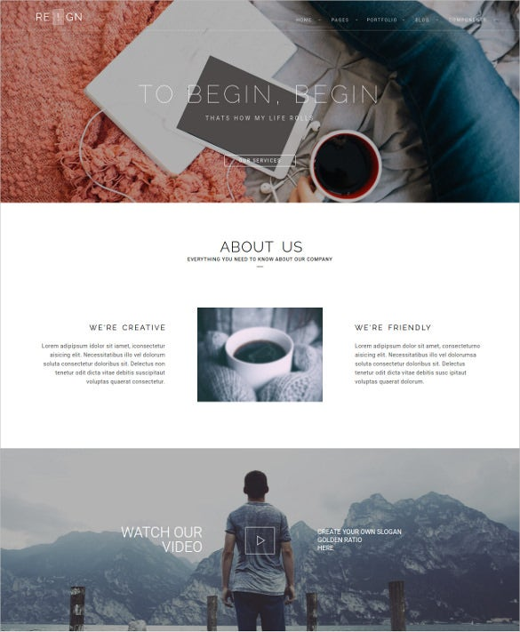 corporate company phptemplate