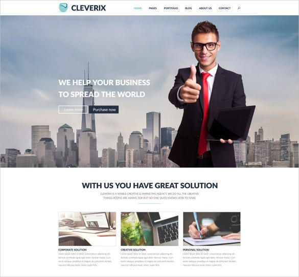 creative corporate psd template