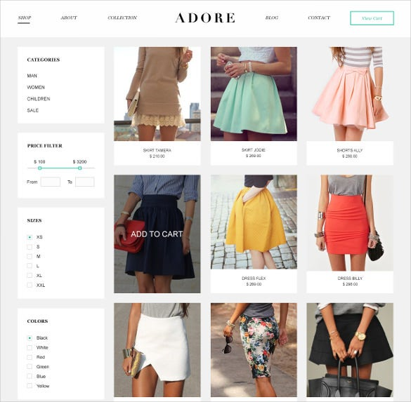 creative psd ecommerce theme