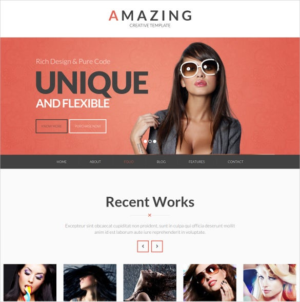 creative corporate php template
