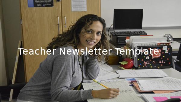 teachernewslettertemplate