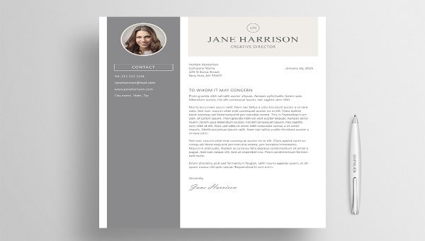 5 Latex Cover Letter Templates