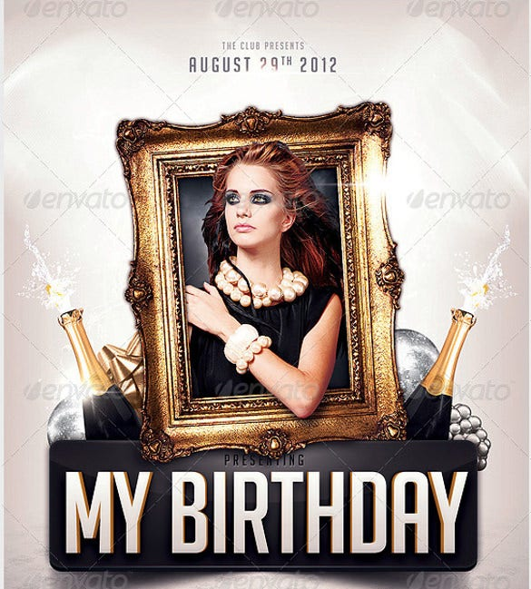 my birthday party invitation template1