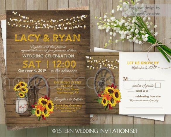 mason jar style wedding invitation